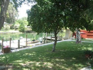 2 Bdrm Condo-waterfront - W/Kayaks Near Springs - Crystal River vacation rentals