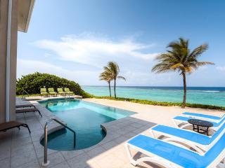 Special Summer Rates at Award-Winning 'Sun Cloud' - Come Stay at this 5BR, Family-Friendly, Oceanfront Luxury Villa in Rum Point - Private Beach and Private Pool! - Rum Point vacation rentals