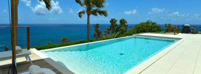 St. Barths Villa 261 You Will Enjoy Swimming In The Large Pool While Watching The Beautiful View Of The Ocean. - Toiny vacation rentals