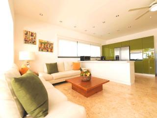 Beachfront 3-bedroom apartment with jacuzzi (M3) - Las Terrenas vacation rentals
