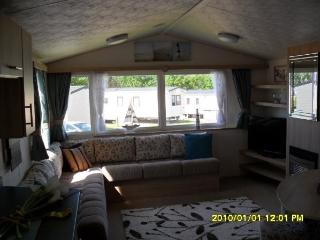 Willerby Salsa Echo. Classified as a Prestige van - Watchet vacation rentals