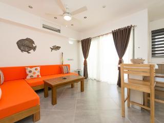 Fully equipped 1-bedroom condo in beachfront complex (J2) - Las Terrenas vacation rentals