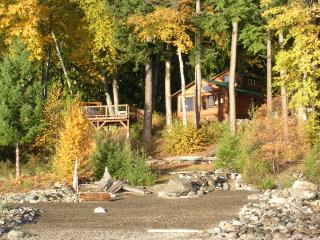 Kootenai Hideaway Lakefront Cabin - Kaslo vacation rentals