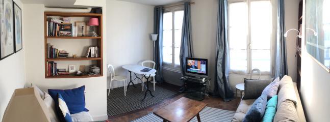 Living room - Vacation Rental in Louvre Near Mueseum and Opera House - Paris - rentals