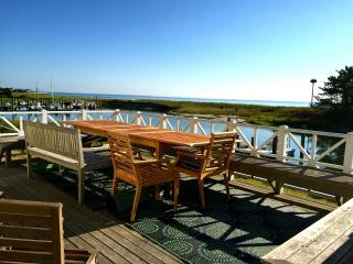 Oceanfront with Beach and Dock on Harthaven Harbor - Oak Bluffs vacation rentals