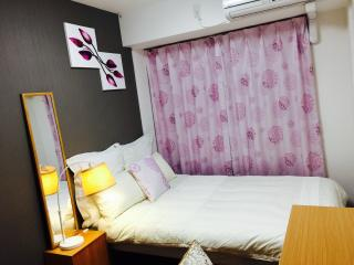 Nice room 2 Stations from Namba, Free pocket Wifi - Osaka vacation rentals