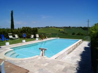 Italy Tuscany chianti pool overlooking the hills f - San Rocco a Pilli vacation rentals