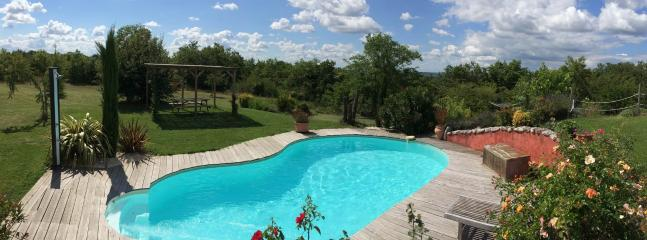 Superb villa heated pool & spa in the Southwest - Castelnau-de-Montmiral vacation rentals