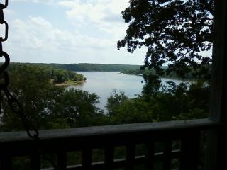 Spectacular Lake View from Kilmer's Log Cabin - Urbana vacation rentals