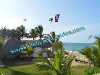 Swiss Kite Beach Condo - 1 bed - 10 steps to Beach - Cabarete vacation rentals