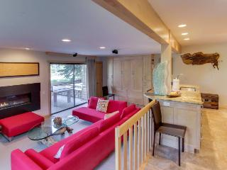Lavish, modern condo with pool & tub, ski-in/ski-out access! - Sun Valley vacation rentals