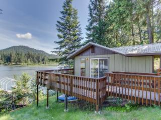 Private dock  w/ great water views! - Hayden Lake vacation rentals