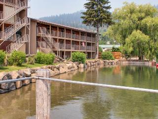 Lakefront condo on  Lake Pend Oreille near beach access & public boat launches! - Bayview vacation rentals