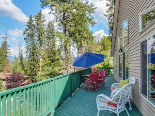 Lakeview home w/ game room & expansive, well-appointed deck - Hayden Lake vacation rentals