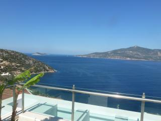 Stylish 5 bedroom villa overlooking Kalkan Bay - Kalkan vacation rentals