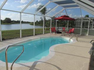 Gorgeous Home with Heated Pool on Waterfront Lake  WOW! - Punta Gorda vacation rentals