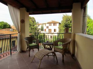 Aurea apartment in Oltrarno with WiFi, airconditioning, privéterras & balkon. - Florence vacation rentals