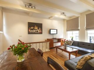 Spacious Old Masters apartment in Canal Belt with WiFi & privétuin. - Amsterdam vacation rentals