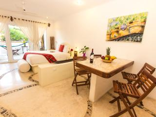 Super cool sunny studio hot tub awesome location - Playa del Carmen vacation rentals