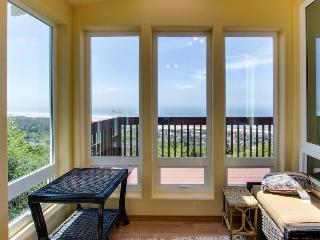 Beautiful home with ocean, mountain views, room for 10! - Rockaway Beach vacation rentals