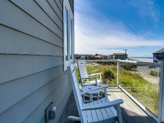 Upscale home w/ hot tub, beach access & views, room for eight! - Newport vacation rentals