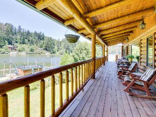 Cabin on the lake, room for 8, boat-access only! - Lakeside vacation rentals