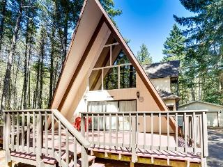 Lovely cabin in tranquil setting w/ private hot tub, nearby ski access -dogs ok! - Welches vacation rentals