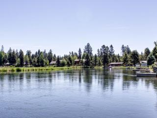 Wonderful home on the Deschutes river with a private dock! - Sunriver vacation rentals