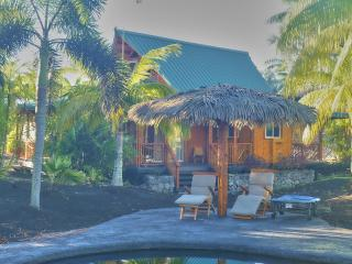 Kaloa: eco Polynesian bamboo home in rural Hawaii - Pahoa vacation rentals