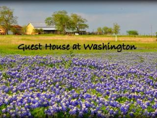Guest House at Historical Washington on the Brazos - Washington vacation rentals