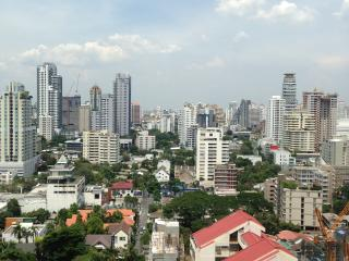 Thai Luxury 2BR Pure center on mrt/bts, crazy view - Bangkok vacation rentals