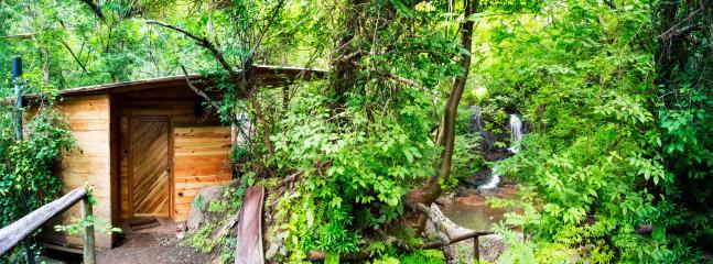 playa venao wood cabin facing private  waterfall - Playa Venao vacation rentals