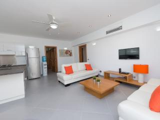 New three-bedroom condo in beachfront complex (L6) - Las Terrenas vacation rentals