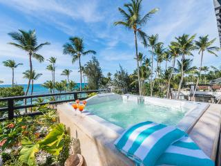 New three-bedroom beachfront penthouse (M9) - Las Terrenas vacation rentals