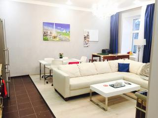 Prestigious Krestovsky 4 Rm Luxury Apartment Furni - Saint Petersburg vacation rentals