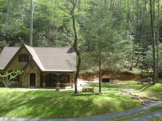 Unique  StoryBook Cottage on 5 Lush acres of Forest, Streams, Peaceful & Private - Sevier County vacation rentals