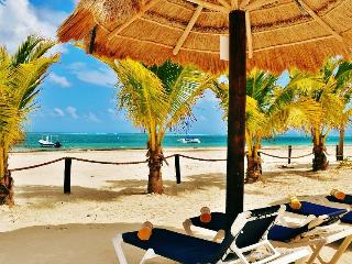 ARRECIFES, 1BR, Beach Front, with Pool - Puerto Morelos vacation rentals