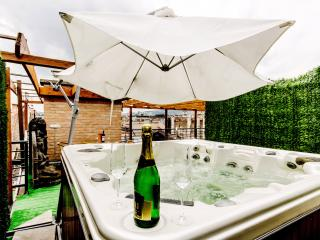 280m2 Lux 5Bedroom Ap. Jacuzzi; Sauna; A/C; WI-FI - Budapest vacation rentals