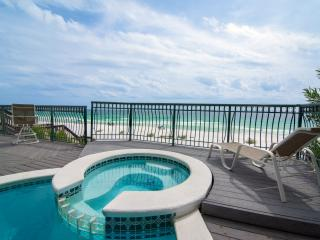 PARADIS: Gulf Front with Stunning Views! Guest House, Beach Front Pool, Beach Service - Miramar Beach vacation rentals