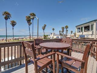 Combined pier front units with 2 decks & accommodations for dogs! - San Diego vacation rentals