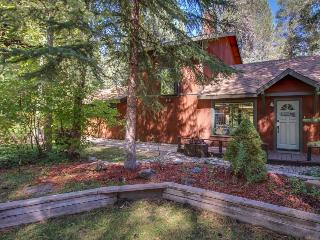 Cozy home w/hot tub, sauna, patio w/horseshoe pit - magical inside & out! - South Lake Tahoe vacation rentals