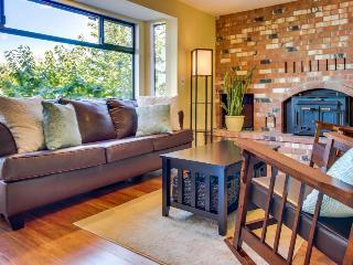 Stylish dog-friendly home w/ waterfront views & beach/dock access - Camano Island vacation rentals