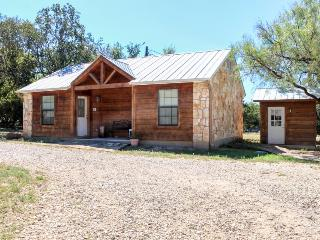 Urban cabin in rustic setting - modern amenities included! - Lakehills vacation rentals