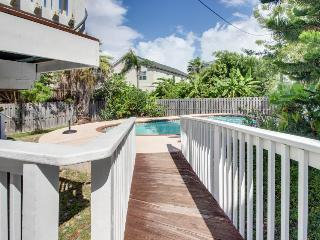 Upscale chateau w/private pool - walk a 1/2 block to the beach! - South Padre Island vacation rentals