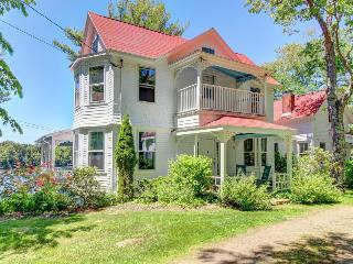 Historic manse with wraparound porch and private dock - West Bath vacation rentals