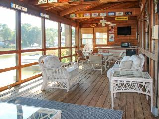 Colorful waterfront home on canal w/ private hot tub, dock & entertainment! - Ocean City vacation rentals