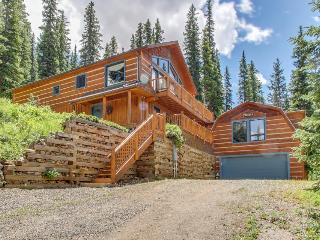 Magnificent log home w/views of Quandary Peak! - Breckenridge vacation rentals