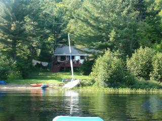 Nice lake front chalet with private deck beach - Wentworth Nord vacation rentals
