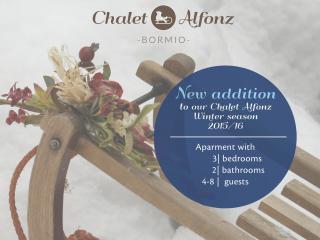Chalet Alfonz - New 3 bedrooms apartment in Bormio - Bormio vacation rentals