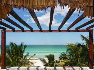 Private Room in Palmthached Beachfront  Lodge - El Cuyo vacation rentals